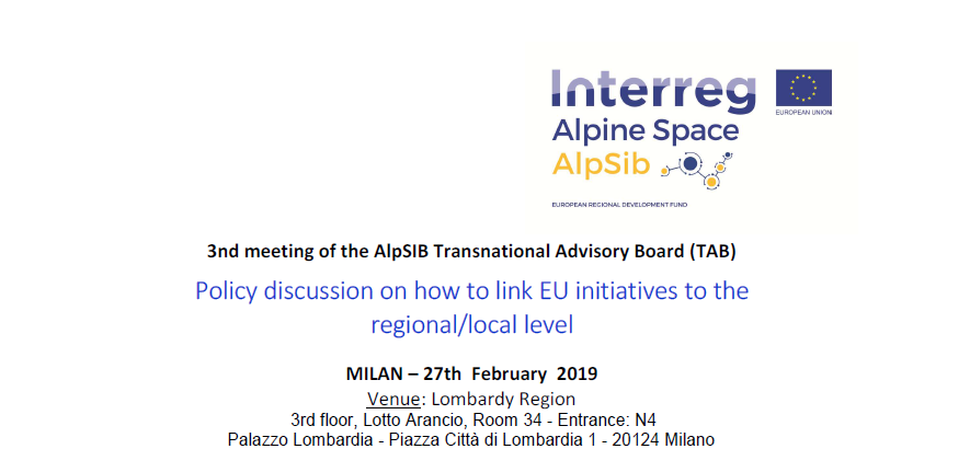3rd TAB meeting in Milan